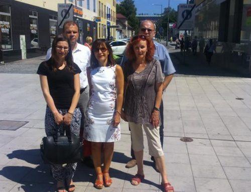 Stredná odborná škola zo Šumperka u nás – nadviazanie spolupráce