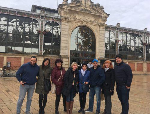 Zástupcovia konzorcia TEET na mobilite u partnera vo Francúzsku