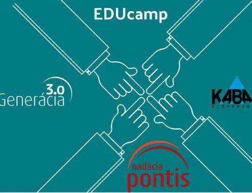 Naša organizácia postúpila do EDUcampu
